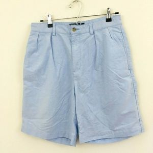 Polo Ralph Lauren Tyler Blue Cotton Shorts